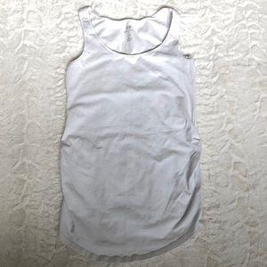 H&M Maternity Basic White Tank